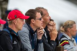 D'Hoore Brecht, BEL, Desmedt Jef, Rigouts Marc<br /> European Championship Eventing<br /> Luhmuhlen 2019<br /> © Hippo Foto - Dirk Caremans
