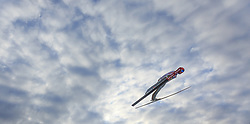 02.01.2016, Bergisel Schanze, Innsbruck, AUT, FIS Weltcup Ski Sprung, Vierschanzentournee, Qualifikation, im Bild Stephan Leyhe (GER) // Stephan Leyhe of Germany during his Qualification Jump for the Four Hills Tournament of FIS Ski Jumping World Cup at the Bergisel Schanze, Innsbruck, Austria on 2016/01/02. EXPA Pictures © 2016, PhotoCredit: EXPA/ JFK