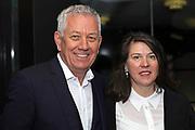 Röbi Koller mit Ehefrau Esther Della Pietra anlässlich des Prix Walo 2018