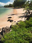 Beach northern Kauai, Hawaii, landscape and water Kauai,Hawaii