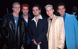 May 25, 1999; Los Angeles, CA, USA; N' SYNC @ the 1999 Blockbuster Awards..  (Credit Image: Quad-City Times/ZUMAPRESS.com)