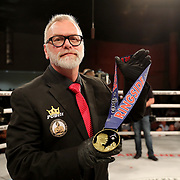 FORT LAUDERDALE, FL - FEBRUARY 15: Bare Knuckle Boxing Hall of Fame president Scott Burt is seen during the Bare Knuckle Fighting Championships at Greater Fort Lauderdale Convention Center on February 15, 2020 in Fort Lauderdale, Florida. (Photo by Alex Menendez/Getty Images) *** Local Caption *** Scott Burt