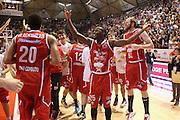 DESCRIZIONE : Campionato 2015/16 Giorgio Tesi Group Pistoia - Sidigas Avellino<br /> GIOCATORE : Team Pistoia<br /> CATEGORIA : Esultanza<br /> SQUADRA : Giorgio Tesi Group Pistoia<br /> EVENTO : LegaBasket Serie A Beko 2015/2016<br /> GARA : Giorgio Tesi Group Pistoia - Sidigas Avellino<br /> DATA : 25/10/2015<br /> SPORT : Pallacanestro <br /> AUTORE : Agenzia Ciamillo-Castoria/S.D'Errico<br /> Galleria : LegaBasket Serie A Beko 2015/2016<br /> Fotonotizia : Campionato 2015/16 Giorgio Tesi Group Pistoia - Sidigas Avellino<br /> Predefinita :