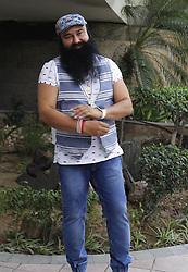 May 15, 2017 - India - Gurmeet Ram Rahim Singh, an Indian spiritual leader, social reformer, actor, director and singer film promotion in New Delhi. (Credit Image: © Ravi Prakash/Pacific Press via ZUMA Wire)