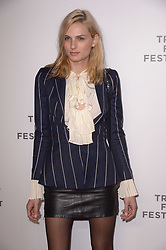 Andreja Pejic attending the premiere of the movie American Meme during the 2018 Tribeca Film Festival at Spring Studios in New York City, NY, USA on April 27, 2018. Photo by Julien Reynaud/APS-Medias/ABACAPRESS.COM