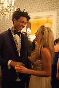 CHARLIE CASELY-HEYFORD; VICTORIA VON WESTENHOLZ, Tatler magazine Jubilee party with Thomas Pink. The Ritz, Piccadilly. London. 2 May 2012