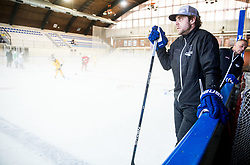 Anze and Matjaz Kopitar during practice session of Hockey Academy of Anze Kopitar and Tomaz Razingar, on July 6, 2017 in Ice Hockey arena Bled, Slovenia. Photo by Vid Ponikvar / Sportida