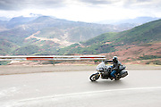 Motorcycle touring in Morocco in the Atlas Mountains