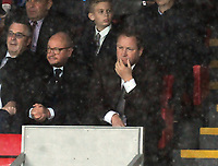 Football - 2018 / 2019 Premier League - Crystal Palace vs. Newcastle United<br /> <br /> Newcastle Owner , Mike Ashley watches from the stands, at Selhurst Park.<br /> <br /> COLORSPORT/ANDREW COWIE