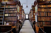 République d'Irlande, Dublin, Marsh's Library, première bibliothèque publique d'Irlande fondée en 1701 // Republic of Ireland; Dublin, Marsh's Library, First public library in Ireland founded 1701