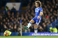 David Luiz of Chelsea in action. Premier league match, Chelsea v Tottenham Hotspur at Stamford Bridge in London on Saturday 26th November 2016.<br /> pic by John Patrick Fletcher, Andrew Orchard sports photography.