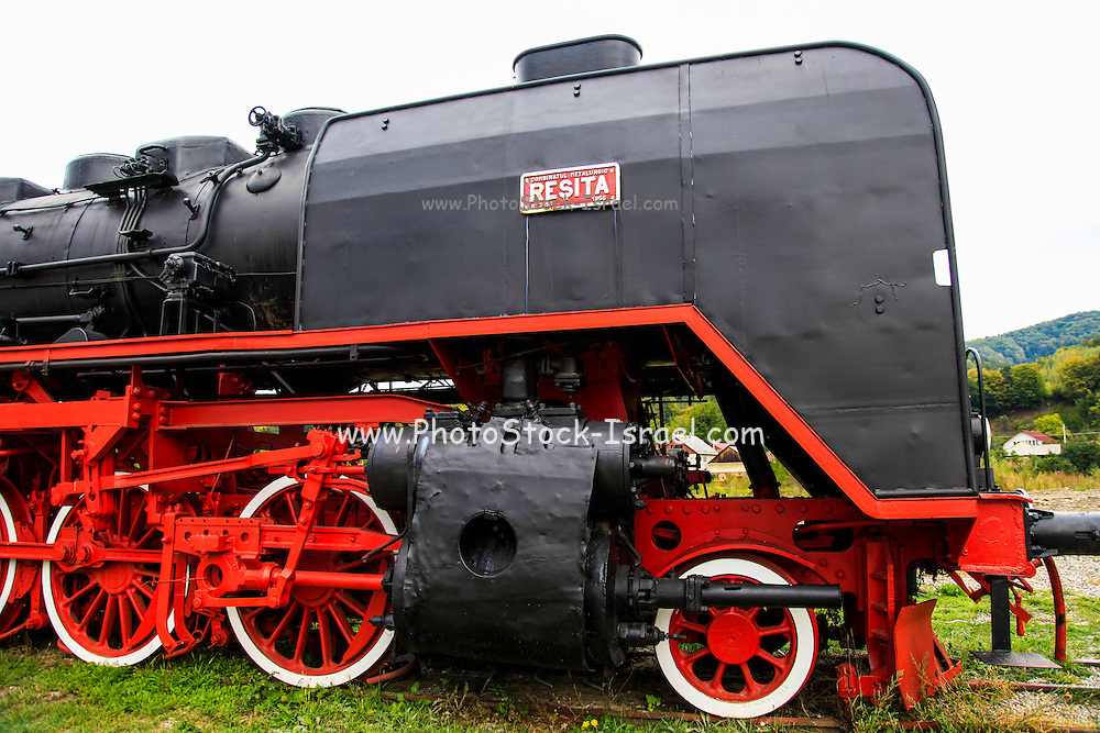 Viseu de Sus Steam Engine, Maramures County, Romania