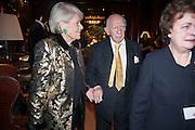 PRINCESS LOEWENSTEIN; PRINCE RUPERT LOEWENSTEIN; , Book launch for ' Daughter of Empire - Life as a Mountbatten' by Lady Pamela Hicks. Ralph Lauren, 1 New Bond St. London. 12 November 2012.