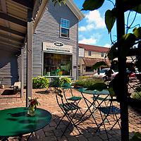 Damariscotta, Maine retail goods store, women's clothing / accessories, goumet foods and kithchen accessories store.