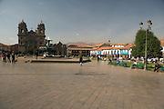 Cathedral and Plaza de Armas  Cusco, Peru