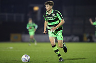 Forest Green Rovers Jordan Stevens(8) during the The FA Youth Cup match between Bristol Rovers and Forest Green Rovers at the Memorial Stadium, Bristol, England on 2 November 2017. Photo by Shane Healey.