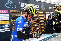 March 15, 2019 - Pomarance, Pisa, Italia - Foto Gian Mattia D'Alberto / LaPresse.15/03/2019 Pomarance (Italia) .Sport Ciclismo.Tirreno-Adriatico 2019 - edizione 54 - da Pomarance a Foligno  (226 km) .Nella foto: Adam Jates GBR..Photo Gian Mattia D'Alberto / LaPresse .March 15, 2018 Pomarance (Italy).Sport Cycling.Tirreno-Adriatico 2019 - edition 54 - Pomarance to Foligno (140 miglia) .In the pic:Adam Jates GBR (Credit Image: © Gian Mattia D'Alberto/Lapresse via ZUMA Press)