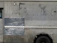 The side of a van