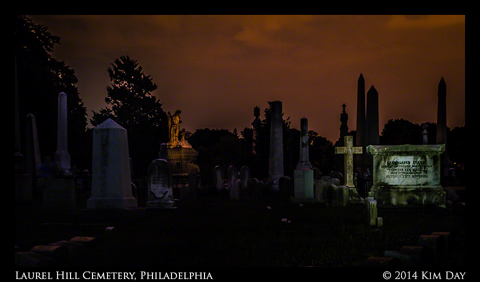 Obelisk Monuments<br /> Laurel Hill Cemetery - Philadelphia<br /> July 2014