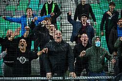 Supporters Green Dragons after the football match between NK Olimpija and NK CB24 Tabor Sezana in 35th Round of Prva liga Telekom Slovenije 2020/21, on May 19, 2021 in SRC Stozice, Ljubljana, Slovenia. Photo by Vid Ponikvar / Sportida