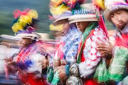 Cemetery festivities on Day of the Dead, Todos Santos Cuchumatán, Guatemala