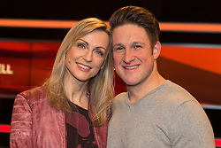 """19.02.2016, Huerth, GER, Settermin, Paarduell, im Bild Olympiasieger Matthias Steiner und seine Ehefrau Inge // during a photocall for the German TV-Show """"Paarduell"""" in Huerth, Germany on 2016/02/19. EXPA Pictures © 2016, PhotoCredit: EXPA/ Eibner-Pressefoto/ Schüler<br /> <br /> *****ATTENTION - OUT of GER*****"""