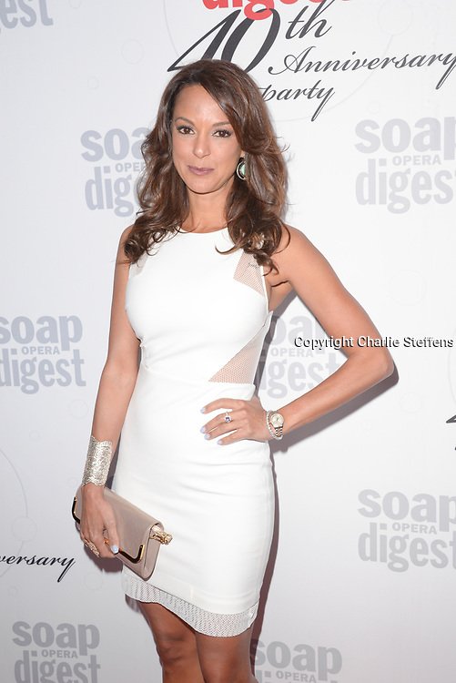 EVA LARUE at Soap Opera Digest's 40th Anniversary party at The Argyle Hollywood in Los Angeles, California