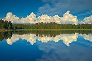 Clouds reflected in Isabel Lake<br />