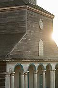 Nercon Church on Chiloe Island, Chile