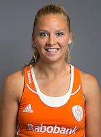 ARNHEM - Jacky Schoenaker. Nederlands Hockeyteam dames voor Wereldkamioenschappen hockey 2014. FOTO KOEN SUYK
