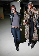"""Binta and Lequan at the """" Brooklyn Underground Fashion Rocks! """" held at the Northside Pier in Williamsburg, Brooklyn on March 23, 2008"""