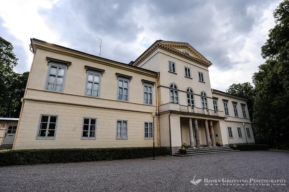 "Sweden. Hagaparken (""Haga Park""), or simply Haga in Solna just north of Stockholm. Haga Palace (Haga slott)."