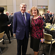 Lifetime Achievement Honoree, Jim Lehrer, Media Person of the Year, Betsy Bruce