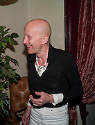 RICHARD O'BRIEN, party after the press night of 'The Last Cigarette' at  the Trafalgar Studios. Party at Walkers, Craig's Court, Whitehall. London.  28 April 2009