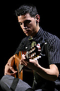 Portrait of Fado guitar player Diogo Clemente. He is one of the young generation of fado singers and players that renewed the music scene in during the last years.
