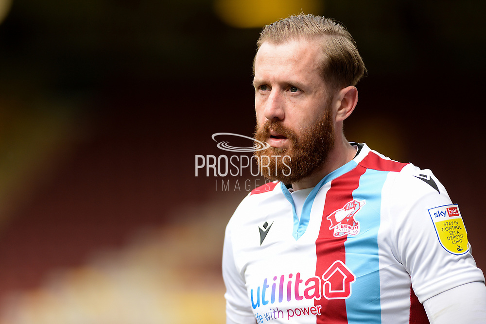 Scunthorpe United Kevin van Veen (10) portrait during the EFL Sky Bet League 2 match between Bradford City and Scunthorpe United at the Utilita Energy Stadium, Bradford, England on 1 May 2021.