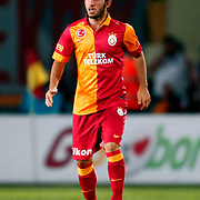 Galatasaray's emre colak during their Friendly soccer match Galatasaray between SS Lazio at the Ataturk stadium in izmir Turkey on Saturday 04 August 2012. Photo by TURKPIX