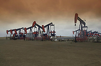 Husky Oil Field - Pikes Peak, Saskatchewan, Canada<br />    Photo: Peter Llewellyn