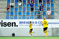 Fotball , Eliteserien<br /> 11.06.2021 , 20210611<br /> Vålerenga - Lillestrøm<br /> Lillestrøms Thomas Lehne Olsen jubler for målet til 2-0<br /> Foto: Sjur Stølen / Digitalsport