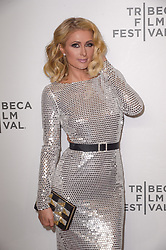 Paris Hilton attending the premiere of the movie American Meme during the 2018 Tribeca Film Festival at Spring Studios in New York City, NY, USA on April 27, 2018. Photo by Julien Reynaud/APS-Medias/ABACAPRESS.COM