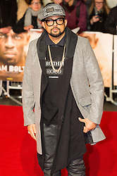 © Licensed to London News Pictures. 28/11/2016. SEAN PAUL attend's the I Am Bolt world film premiere. London, UK. Photo credit: Ray Tang/LNP