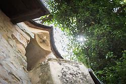 The 14th century Saint Quirin chapel, Luxembourg.