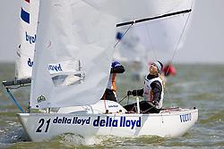 08_01022 © Sander van der Borch. Medemblik - The Netherlands,  May 21th 2008 . First day of the Delta Lloyd Regatta 2008.