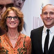 NLD/Amsterdam//20140330 - Filmpremiere Lucia de B. , Moniek Kramer + Thijs van Marle