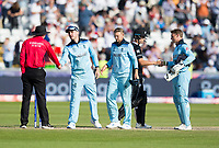 Cricket - 2019 ICC Cricket World Cup - Group Stage: England vs. NZ<br /> <br /> England players celebrate after winning by 119 runs, at the Riverside, Chester-le-Street, Durham.<br /> <br /> COLORSPORT/BRUCE WHITE