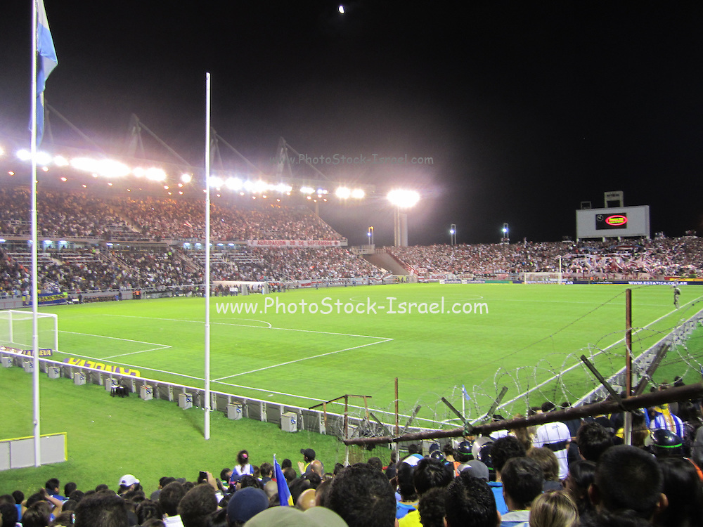 Boca River Soccer game at the Mar del Plata soccer Stadium Buenos Aires, Argentina January 19th 2013