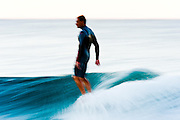 30th May 2011: Dane Pioli hangs ten surfing at Snapper Rocks on the Gold Coast, Queensland, Australia. Photo by Matt Roberts / Nikon