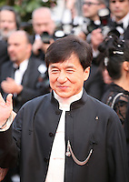 Jackie Chan at the gala screening of the film De rouille et d'os at the 65th Cannes Film Festival. Thursday 17th May 2012, the red carpet at Palais Des Festivals in Cannes, France.