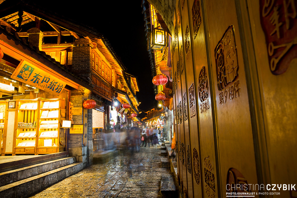 Lijiang Old Town Street Photography