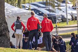 Team Switzerland, Niklaus Evelyne, Nicholsson Andrew, SUI<br /> FEI EventingEuropean Championship <br /> Avenches 2021<br /> © Hippo Foto - Dirk Caremans<br />  23/09/2021